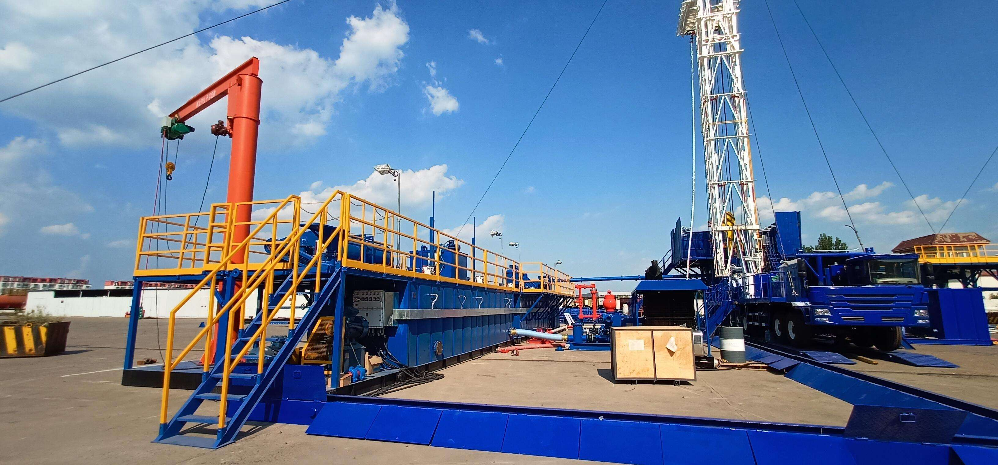 KOSUN ZJ15 Drilling Rig Solids Control Systems at the Ukrainian Site